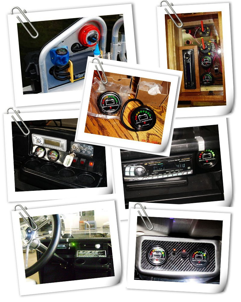New 48 Volt 48v Club Car Golf Cart Led Battery Meter Ebay Wiring Diagram For 2005 Here Are Some Pictures From Our Lovely Customer