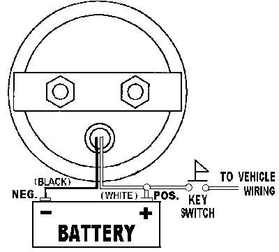 round_round_wiring1 voltage meter wiring diagram oil gauge wiring diagram \u2022 wiring teleflex volt gauge wiring diagram at panicattacktreatment.co